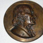 Placa de perfil de R.A. Philippi